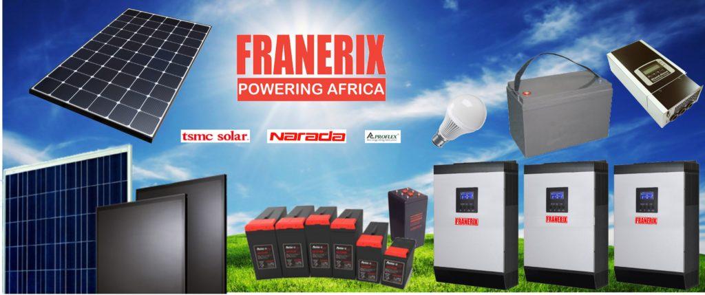 Products | Franerix Solar Solutions | Solar Company in Ghana, solar